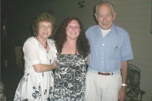 Best Great Aunt and Uncle a girl could wish for!